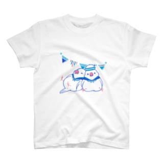 セーラー文鳥 T-shirts
