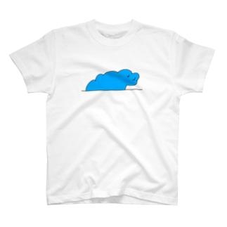 もくもく雲さん T-shirts