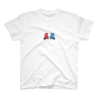 赤鬼と青鬼 T-shirts