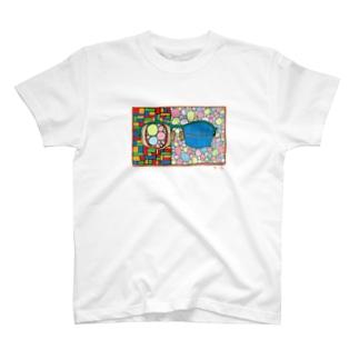 めがね T-shirts