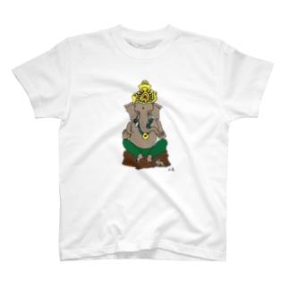 ガネーシャ T-shirts