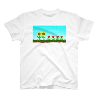 きせつのむじゅん T-shirts