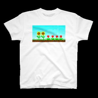 てきめんのきせつのむじゅん T-shirts