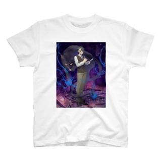 黒猫怪奇探偵事務所 T-shirts