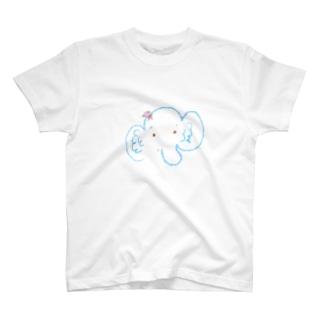 ぱおちゃんてぃーしゃつ(おはなおすまし) T-shirts