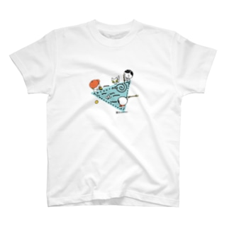 子どもの遊び(トライアングル) T-shirts