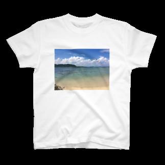 Shop Of Futureの竹富島の海 T-shirts