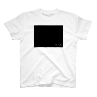 ≒mubu スタンダード黒 T-shirts