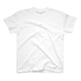 ≒mubu ピンクロゴ T-shirts