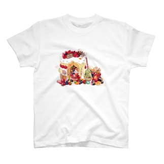 クリスマスのお家 T-shirts