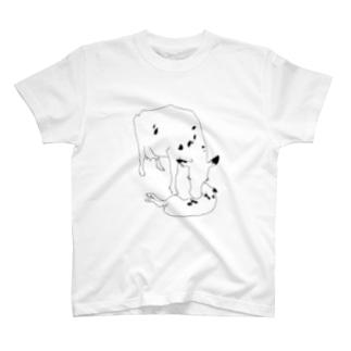 お母さん似 T-shirts
