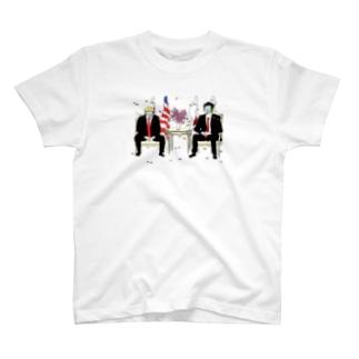 日米シュノーケリング会談 T-shirts