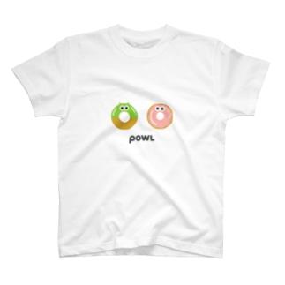 ドーナツぽぽろう T-shirts