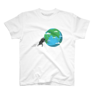 星コロガシ 地球編 T-shirts