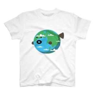 フグタちきゅお T-shirts