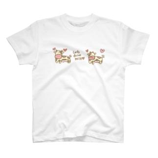 モーモーウシのモーモーちゃん T-shirts
