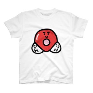 キャラNo. 37H2O分子模型くん  T-shirts