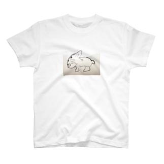 ウサギ? T-shirts