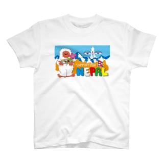 ネパールチャリティーグッズ03 ネパティーくん T-shirts