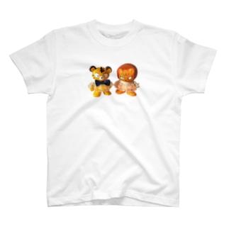 トラ君ライオン君 T-shirts