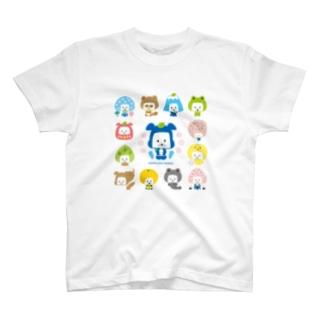 忍者犬たろうくん_H1 T-shirts