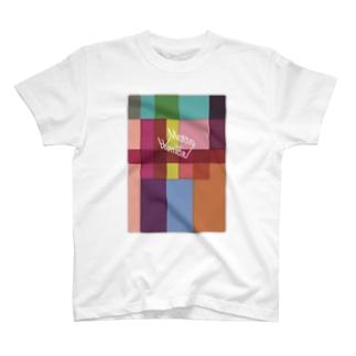 もっとほめて冬カラー T-shirts
