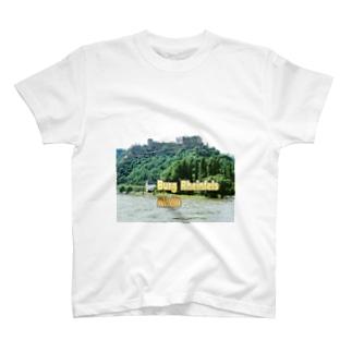 ドイツ:ラインフェルス城 Germany: Burg Rheinfels / Rhein T-shirts