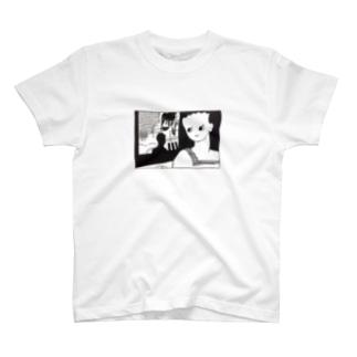 料理、飽きちゃった… Guttari housework ステッカー T-shirts