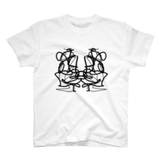 ロールシャッハ T-shirts