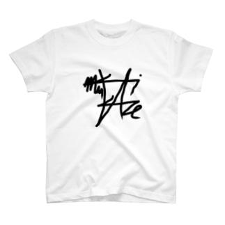 風があたる場所で名前が変わるTシャツ T-shirts