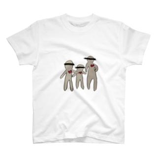 仲良し家族 T-shirts