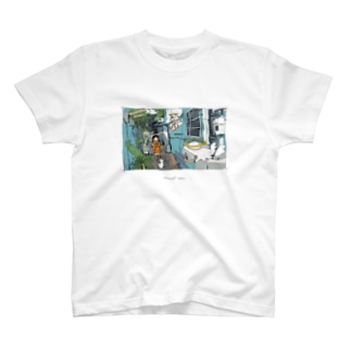 ohutonのMinkowski space T-shirts