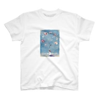 海からの贈り物 T-shirts