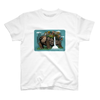 "Dark blanco ""Monster 5"" T-shirts"