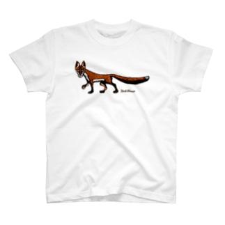 "Dark blanco ""Fox"" T-shirts"