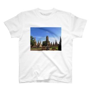 晴天のアユタヤ T-shirts