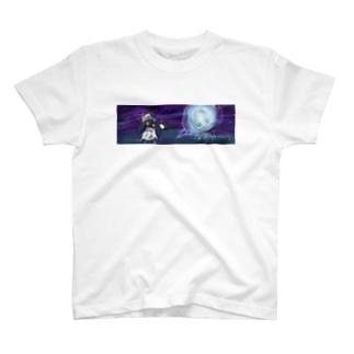 月下のざきんぽす T-shirts