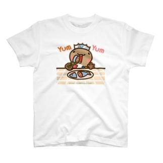 邑南町ゆるキャラ:オオナン・ショウ『Yum Yum』 T-shirts
