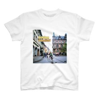 ドイツ:ハイデルベルク旧市街 Germany: Heidelberg T-shirts