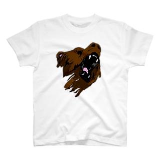 Wild Bear. T-shirts
