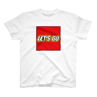 LET'S GO(枠あり) T-shirts