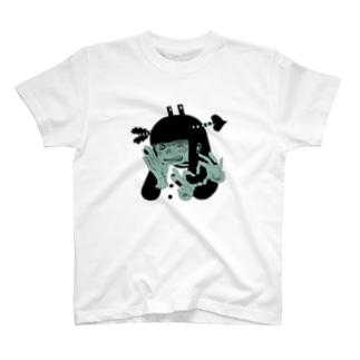 いぬかれ T-shirts