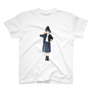 漆黒少女 T-shirts