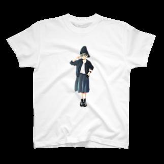 かねじの漆黒少女 T-shirts
