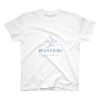 BRAVE BIRD T-shirts