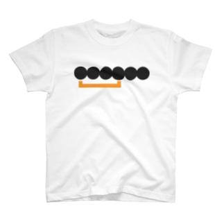 抽象化されたロゴ(Web通販サービス) T-shirts