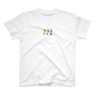 きょうりゅうえごころしりーず T-shirts