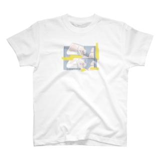 揺れる髪と私の心 1 T-shirts