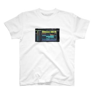DAWプリント トコナツサーキット T-shirts