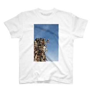 hill of cross -vivid- T-shirts